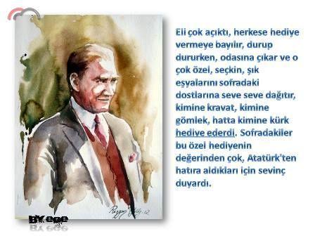 Atatürk'le ilgili bilinmeyenler