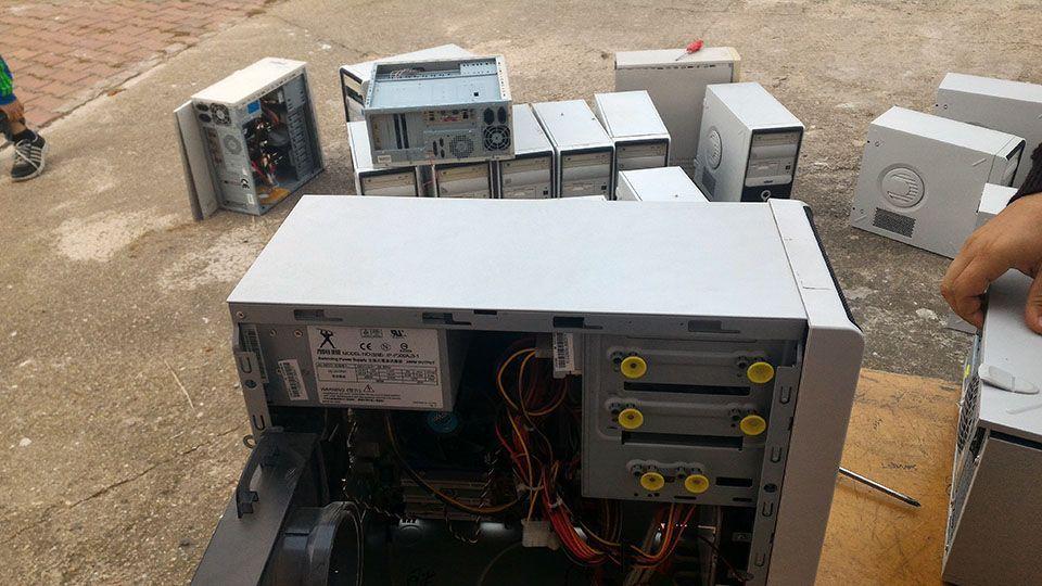 BT Sınıfı Bilgisayarlarını Temizliği