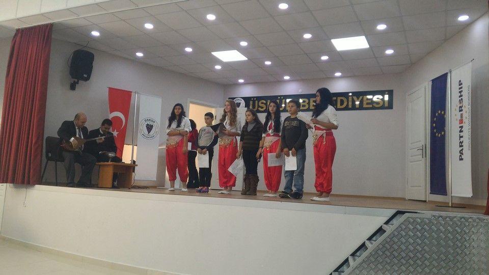 7 Aralık Bulgar Misafirlere Gösteri