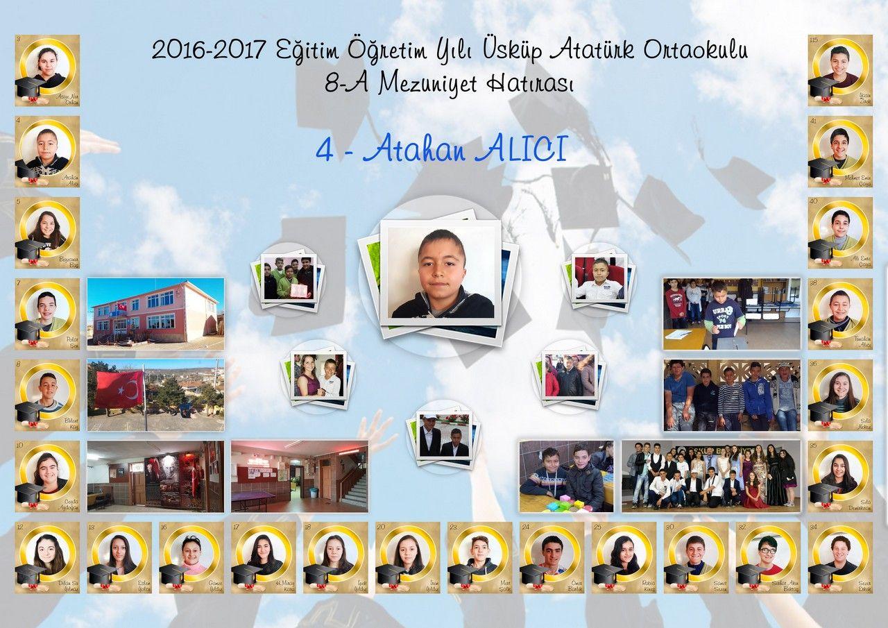 8A Sınıfı Öğrencilerime Mezuniyet Hatırası