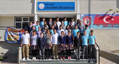 Kırklareli Atatürk Ortaokulu 8D sınıfı Yıl 2012