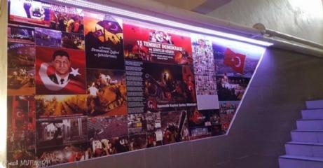 Üsküp Atatürk İlkokulu 15 Temmuz Köşesi Tasarımı