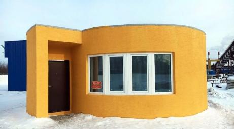 Üç boyutlu yazıcı ile 24 saatte ev yapıldı