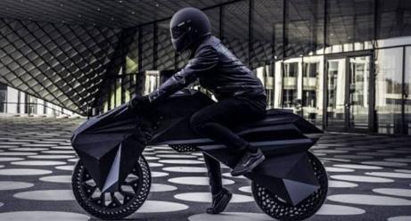 3 boyutlu yazıcıyla üretilen ilk motosiklet